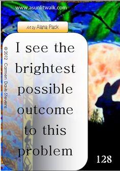 128 The brightest possible outcome | A Sunlit Walk