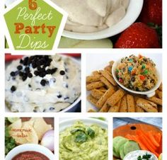 6 Party Appetizers and Dips