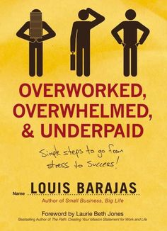 Working people of every conceivable age, sex, marital status,career path, tax bracket, and length of employment have atleast one thing in common—they all feel OVERWORKED, OVERWHELMED