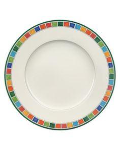 "Villeroy & Boch ""Twist Alea"" Salad Plate. This is the CARO pattern."