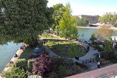 Square du Vert Galant.