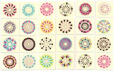Spirograph, Camila Leon Textures Patterns, Fabric Patterns, Print Patterns, Spirograph, Textile Texture, Color Shapes, Art Design, Painting & Drawing, Design Inspiration