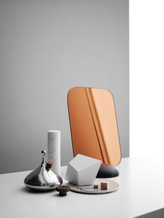#copper #marble #mirror