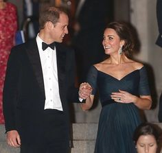 William and Kate couldn't keep their eyes off each other after a special NYC gala in December, 2014.....