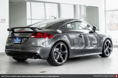 Audi TT S line competition in Daytona Grey