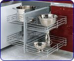 Rev-a-shelf Kitchen Blind Corner Cabinet Optimizer - Maximizes Space In Blind…