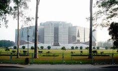 The Parliament Building at Sher-e-Bangla Nagar, Dhaka Pakistan Bangladesh, India And Pakistan, Continents, Egypt, Cities, Asia, Urban, Building, Buildings