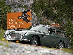 ❦ Aston Matin, Classic British Cars in St. Moritz - Luxist