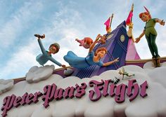 Another of my fave rides, Peter Pan's Flight - Walt Disney World Florida Disney World Fotos, Disney World Rides, Disney World Pictures, Disney World Florida, Disney World Resorts, Disney Vacations, Walt Disney, Disney Love, Disney Parks
