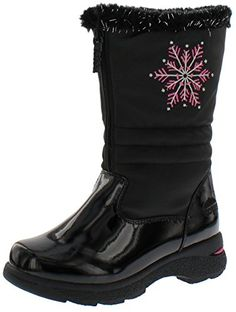 571032bc4718 Totes Girl s Vannessa Snow Boot Wide Calf Boots