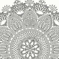 Round area rug 625 in crochet rug crochet decor doily Crochet Doily Rug, Crochet Placemats, Crochet Doily Diagram, Crochet Rug Patterns, Crochet Carpet, Crochet Mandala Pattern, Crochet Dollies, Crochet Home, Thread Crochet