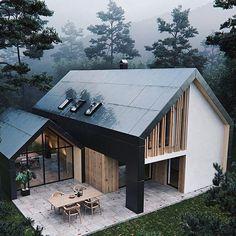 Pavilion House Full CGI on Behance Pavillon Future House, Modern Home Design, Interior Modern, Minimalist Interior, Modern Decor, Minimalist Bedroom, Minimalist Decor, Room Interior, Design Exterior