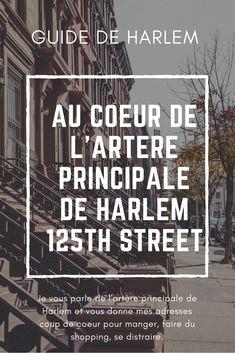 Harlem est un quartier de New York à ne pas rater pour son énergie singulière et sa forte culture afro américaine. Il y a beaucoup à voir, à faire et une belle histoire à découvrir. Plus d'informations dans mon article : http://www.we-love-new-york.com/125th-harlem/