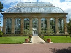 Edinburgh Botanical Garden Greenhouse-conference of the birds-I'm going to miss you :(