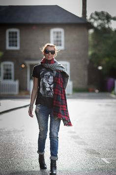 Look of the Day - Zara Scarves Rock! | Miss Street Chic