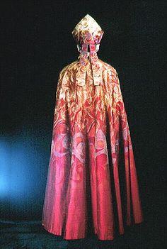 Image result for pink gold vesment gown