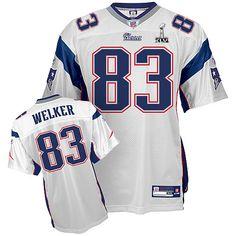 Reebok New England Patriots  83 Wes Welker White Authentic XLVI Super Bowl  Jersey Cardinals Nfl d913914ac