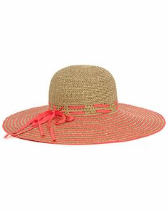Magid Coral Floppy Hat
