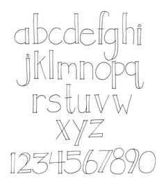 hand lettering alphabet open face font - Fonts - Ideas of Fonts - hand lettering alphabet open face font Lettering Styles Alphabet, Hand Lettering Fonts, Doodle Lettering, Brush Lettering, Font Alphabet, Lettering Ideas, Simple Lettering, Bullet Journal Fonts Hand Lettering, Chalkboard Lettering Alphabet
