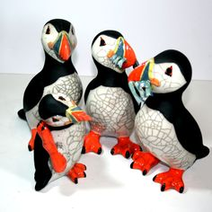 WOW! loves Chloe's Puffins - so cute so silly and at £70 or £75 such a good price. #seaside search for them  through www.thewowgallery.co.uk