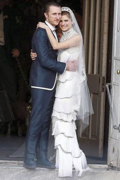 """Lake Bell at her wedding: """"I like to have fun with what I put on, but I also want to remain classic. So I guess my signature is sexy and eclectic but classic."""""""