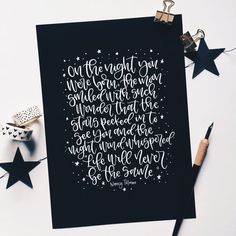 On the night you were born Nancy Tillman black and white Brush Lettering Quotes, Hand Lettering Art, Calligraphy Quotes, Lettering Design, Lettering Ideas, Caligraphy, Popular Quotes, Popular Books, Nancy Tillman