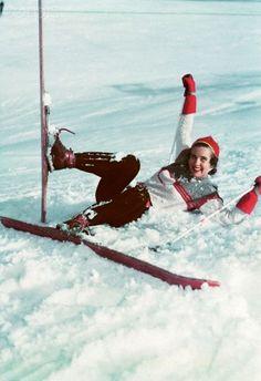 vintage ski #RogersWinterWhites