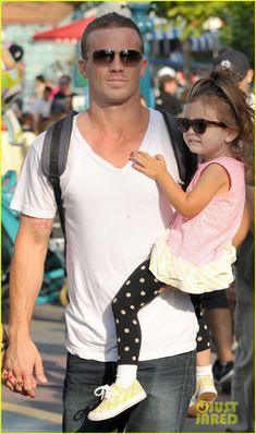 Is there anything hotter than a man with his baby? Cam Gigandet