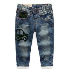 image Blue Jean Outfits, Denim Pants, Trousers, Rainbow Fashion, Kids Pants, Baby Wearing, Kids Wear, Jeans Style, Kids Fashion