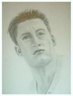 This sketch was done at my daughters request as a Christmas present because at that time she 'loved' Gary Lucy in Footballers Wives and I think Eastenders??? I liked the pose in this one even if my daughter no longer fancies him!