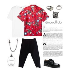 """""""Unbenannt #11"""" by jnco ❤ liked on Polyvore featuring Acne Studios, Gucci, DAMIR DOMA, M. Cohen, Dsquared2, Vetements, Calvin Klein, men's fashion and menswear"""