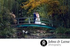 Johns & Leena Photography - Best Hamilton, NJ Wedding Photographer: Mariel & Drew's dream wedding was held at the beautiful Grounds for Sculpture in Hamilton, NJ. One of the best wedding venues in Central Jersey, it has lot of photo op scenic spots for the bride & groom who chose to have their wedding there. The  gardens have been landscaped in such a way that each section of the huge  garden presents a different look and feel and the monotony of the same  background is never a problem. And…