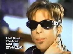 PRINCE  Face Down - very artistic video