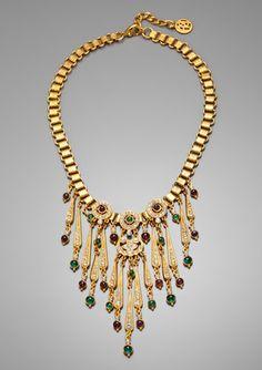 BEN-AMUN Chandelier Chain Necklace