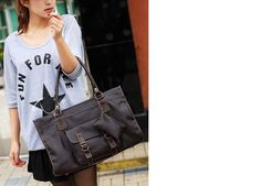 Retro Stitching shoulder tote 19.98 @ everyday-retail.com free standard shipping