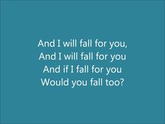 Fall - Ed Sheeran Lyrics, via YouTube.