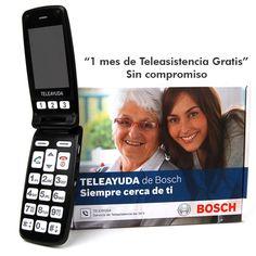 Telefono movil facil uso 3GM TELEAYUDA libre negro #geek #tecnologia #oferta #regalo #novedades