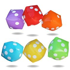 30*30cm Giant Inflatable Air Number Dice Outdoor Beach Toy Party Garden Game Children Toys