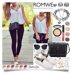 """Untitled #115"" by mila96h ❤ liked on Polyvore featuring Lulu*s, Terre Mère, NARS Cosmetics, LORAC, Quay and romwe"