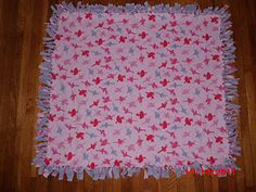 No-Sew Fleece Blankets