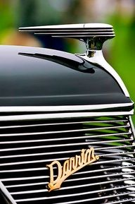1937 Ford Model 78 Darrin Convertible Hood Ornament