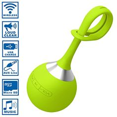 Wireless Speaker Green - Portable Sports Mini for Smartphone's iPads iPods MP3 Players Funsparks http://www.amazon.com/dp/B01C4F4SVA/ref=cm_sw_r_pi_dp_iz2Zwb0YMNYDK