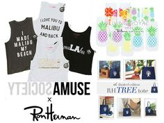 A week of Exclusives here at Ron Herman. Check out our Collaborations with Amuse Society and Living Royal and our Limited Edition Tree Tote Exclusively at www.RonHerman.com
