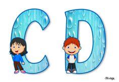 Capital Alphabet, Cute Alphabet, Alphabet Letters, Book Activities, Toddler Activities, School Timetable, Bulletin Board Letters, The Beach Boys, Kids Board