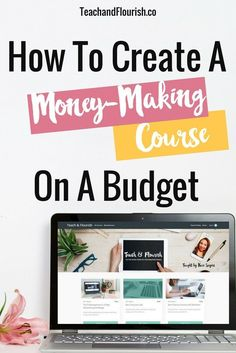 Are you ready to package what you know into a course, but you don't want to spend hundreds of dollars on software and equipment? Here's how I created my first e-course for less than $50.