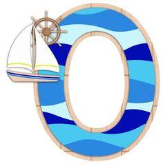 Nautical Letters, Nautical Baby, Nautical Theme, Alphabet Templates, Alphabet Stencils, Nautical Background, Number Crafts, Sailor Theme, Free Printable Banner