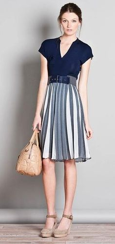 Adolfo Dominguez Spring Outfits, Trendy Outfits, Fashion Outfits, Fashion Trends, Chic Dress, Dress Skirt, Spain Fashion, Look Formal, Street Style