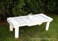 Pallet table 13 by Elizabeth Joan Designs, via Flickr