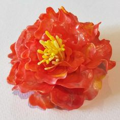 Use Plastimake to create strong plastic items in minutes. It's reusable, non-toxic, biodegradable and easy to use. Flower Hair Clips, Flowers In Hair, Plastic Items, Biodegradable Products, Sculptures, Diy Projects, Create, Handyman Projects, Handmade Crafts