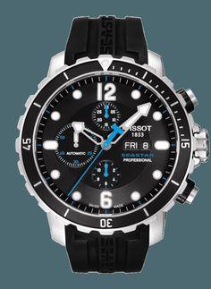<em>TISSOT</em> SEASTAR 1000 PROFESSIONAL Automatic Chronograph Valjoux/T066.414.17.057.00